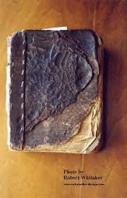Picture of the Whitaker Family Bible.